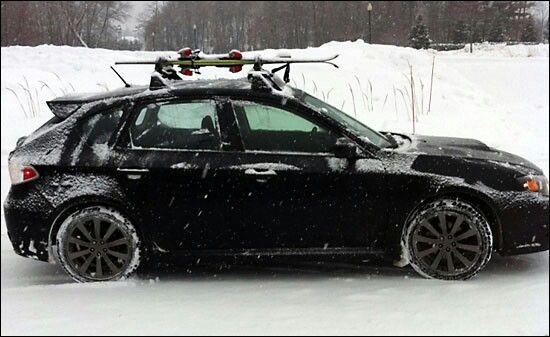2008 Subaru Impreza Wrx Hatchback Roof Rack 12 300 About