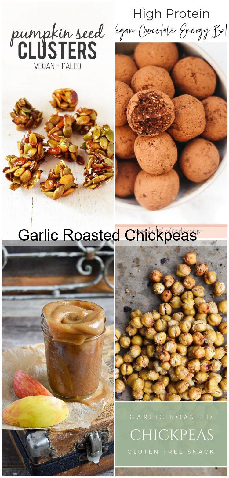 Garlic Roasted Chickpeas Garlic Roasted Chickpeas,