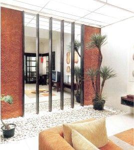 taman minimalis dalam rumah | rumah, minimalis, dekorasi rumah