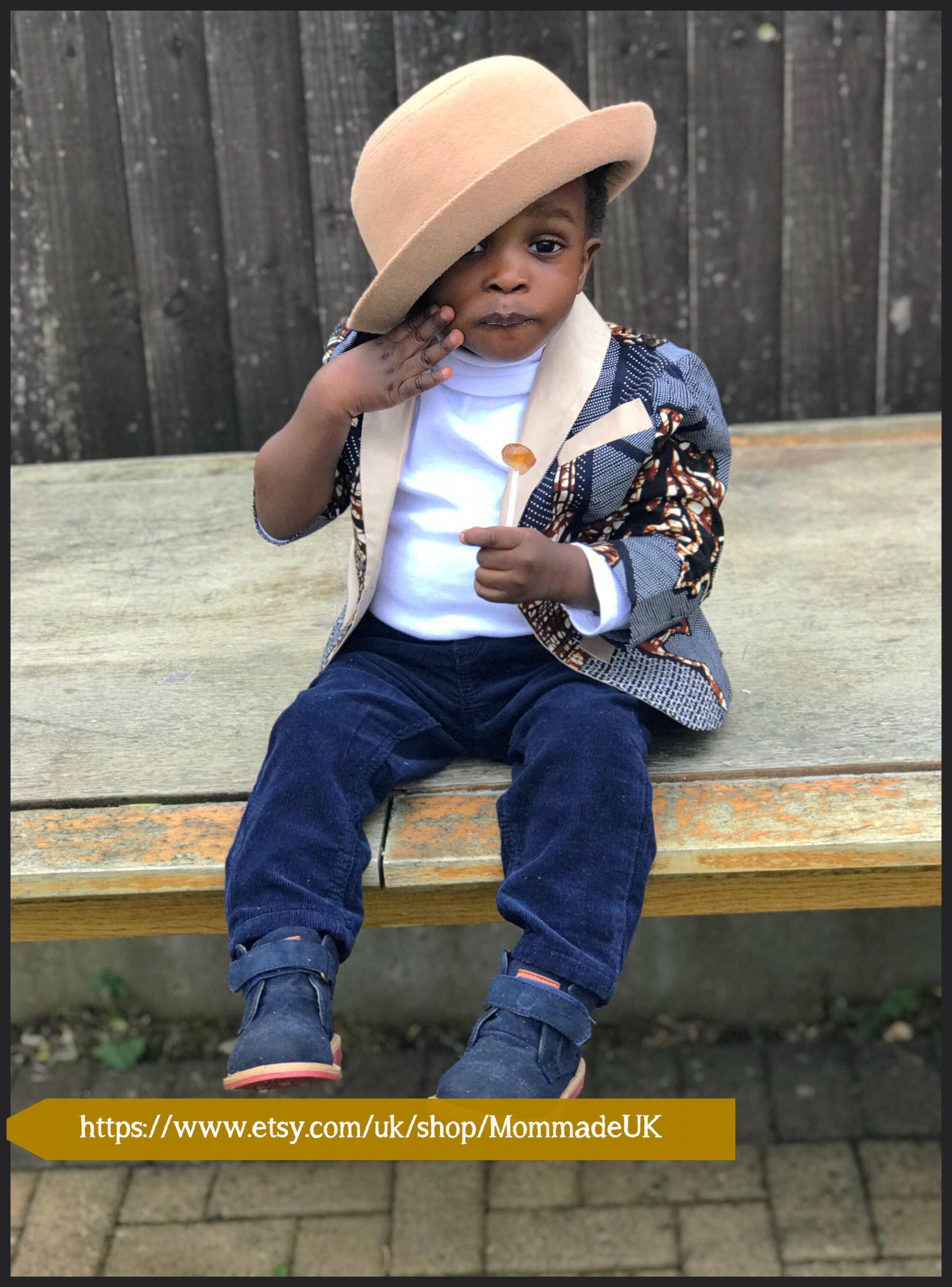ee4d8ba8d African print blazer for baby boys ✨👑 | toddler designs | Blazer ...