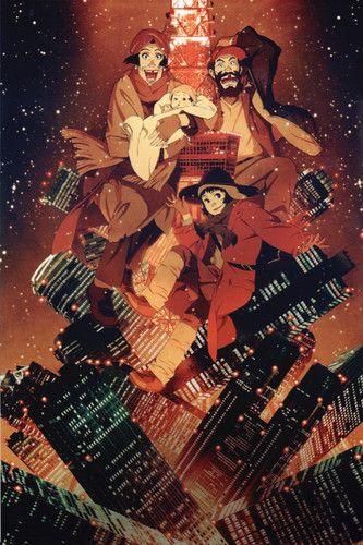 Tokyo Godfathers 2003 NemDiggers   Anime   Pinterest