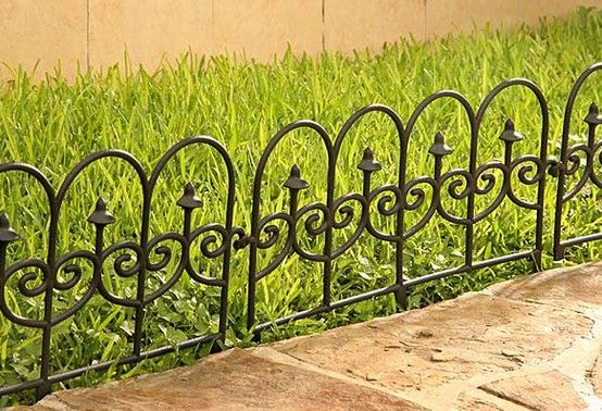 Protege tu jard n colocando una cerca pl stica con vista - Disena tu jardin ...