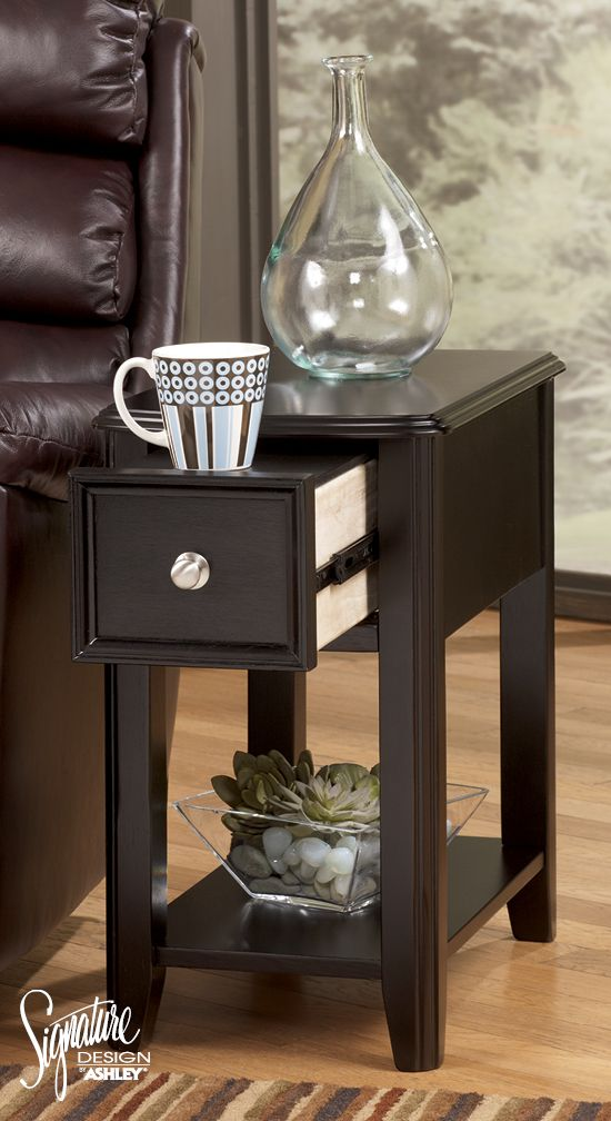 Breegin Chair Side End Table Ashley Furniture Den In 2019