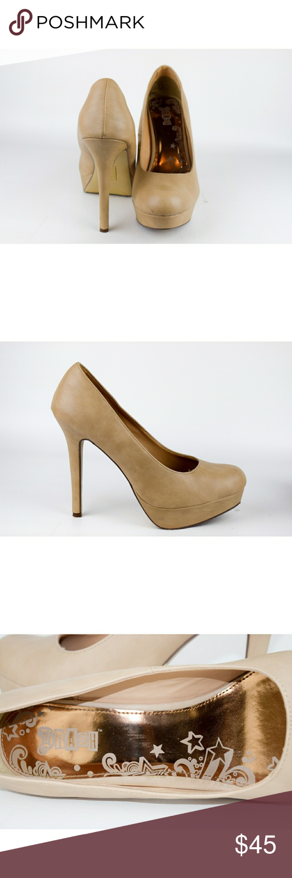 Brash Pumps Size 12 Tan Stiletto Heel Pump Some Wear On Soles And Heels But Otherwise In Great Condition Make An O Pumps Heels Stilettos Stiletto Heels Pumps