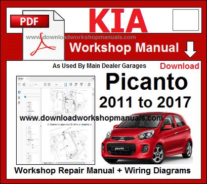 Kia Picanto 2018 To Work, Kia Picanto Wiring Diagram Pdf