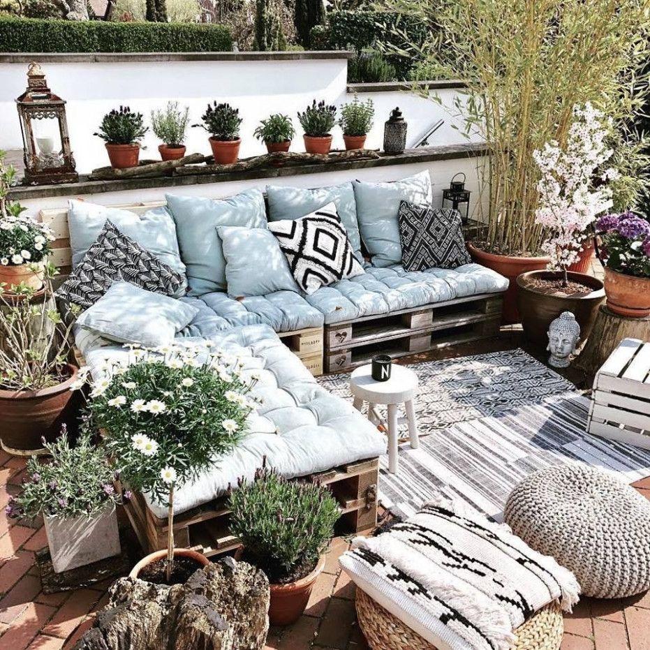 Chill Lounge Garten Kleines Balkon Dekor Chill Lounge Wohnung Balkon Dekoration