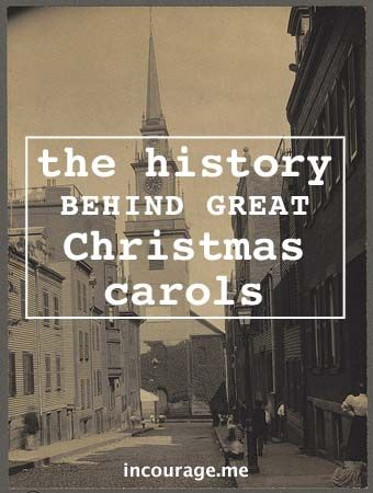 the history behind 5 great christmas carols