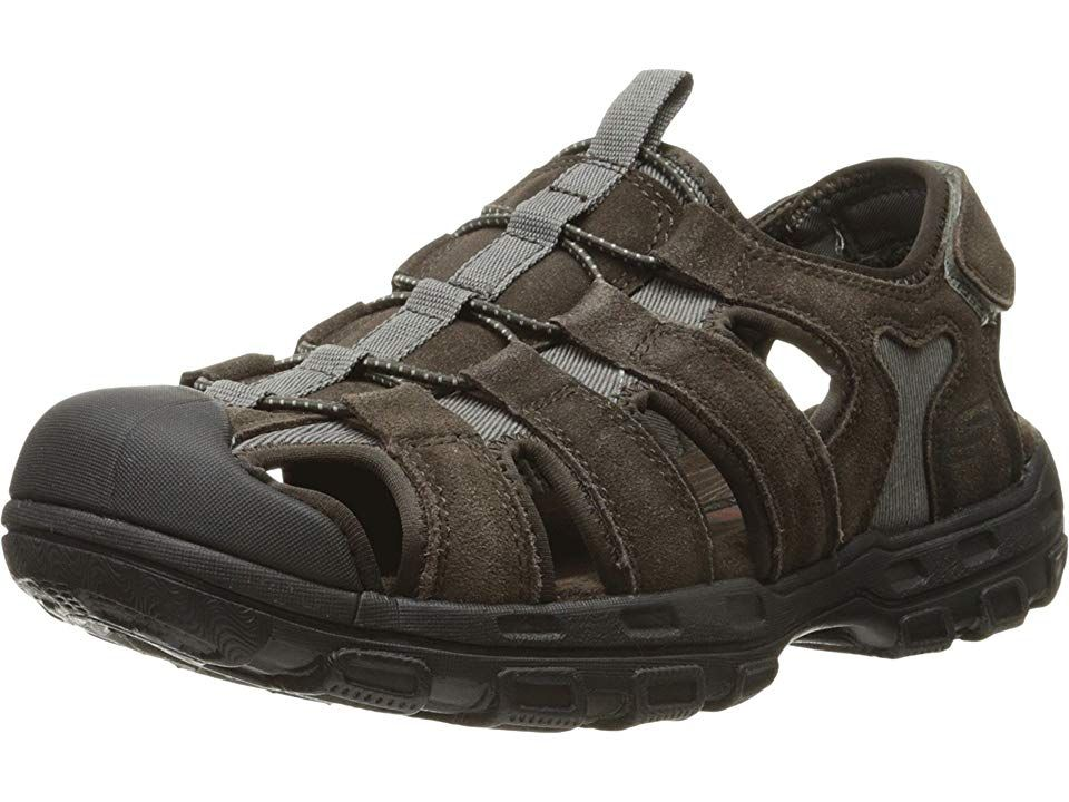 SKECHERS Relaxed Fit 360 Garver Selmo Men's Sandals Brown