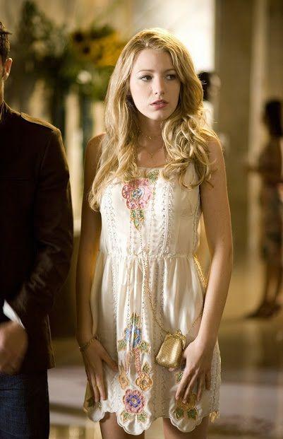 Hervorragend Gossip Girl   TV Série   Moda   Look   Style   Estilo   Inspiration    Inspiração   Fashion   Serena Van Der Woodsen ( Blake Lively )   Blumarine  ...
