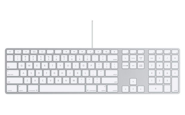 Cleaning Apple Aluminum Keyboard    or any other soft-touch