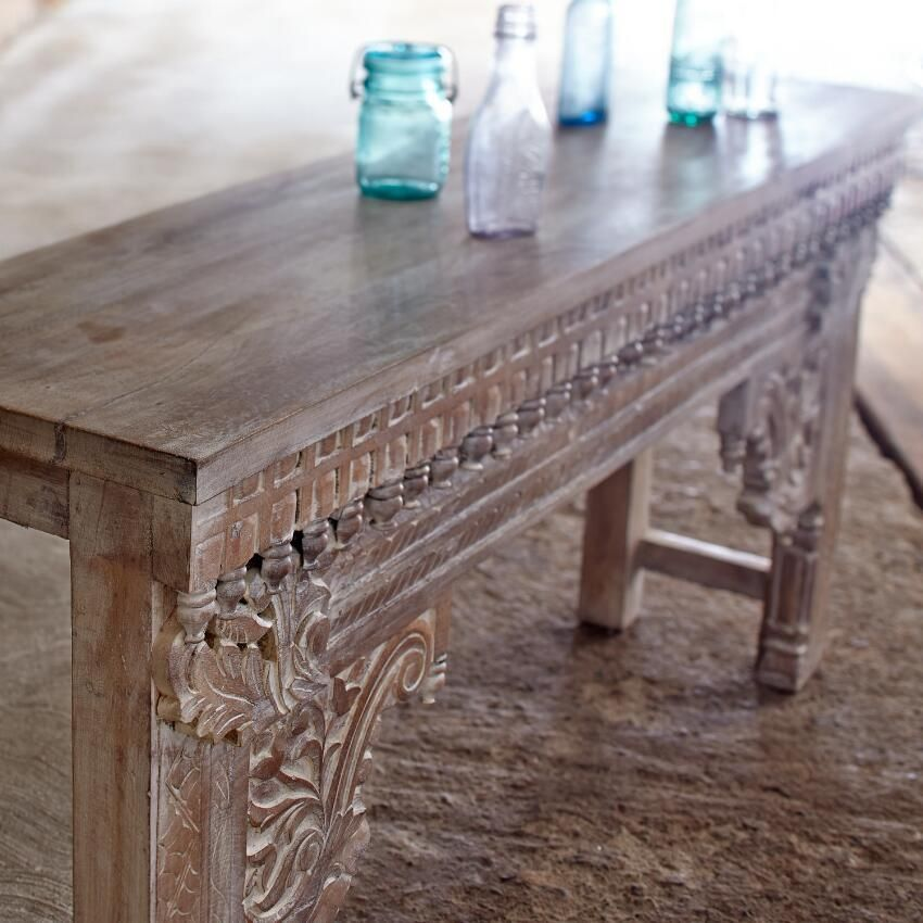 Jodhpur Wood Console Table ~ Hand Crafted By Artisans In India Via  Www.worldmarket