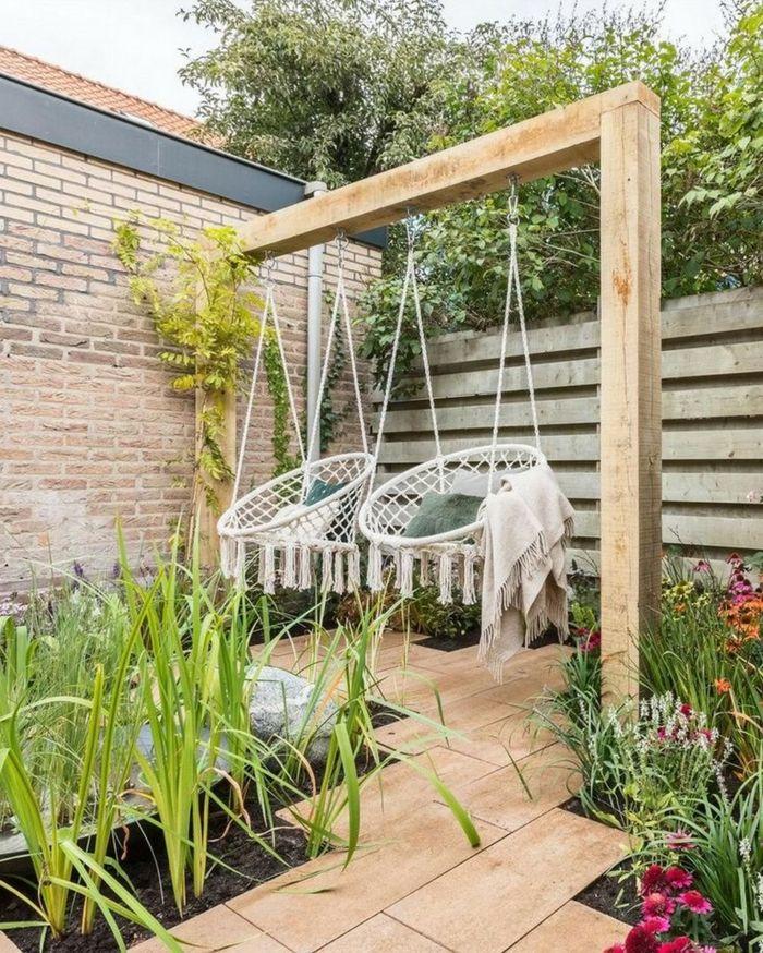 145 inspirierende Sichtschutz Garten Ideen für Sommer 2021