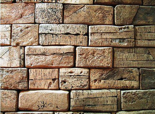 Wall Of Cork Bricks Cork Wall Sound Proofing Dart Board Wall