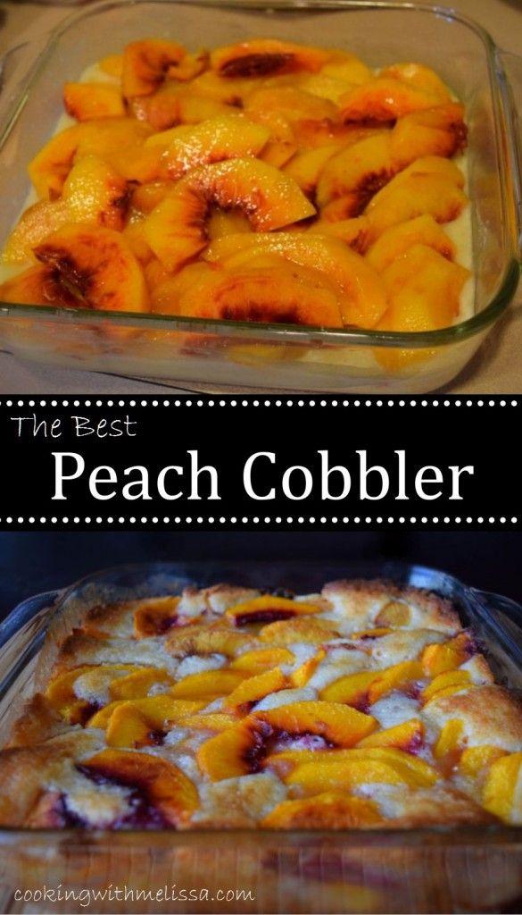 Best Texas Peach Cobbler