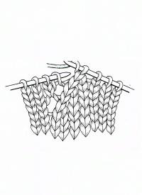 Photo of Handwerkskreis | Strickmuster mit Maschen stricken