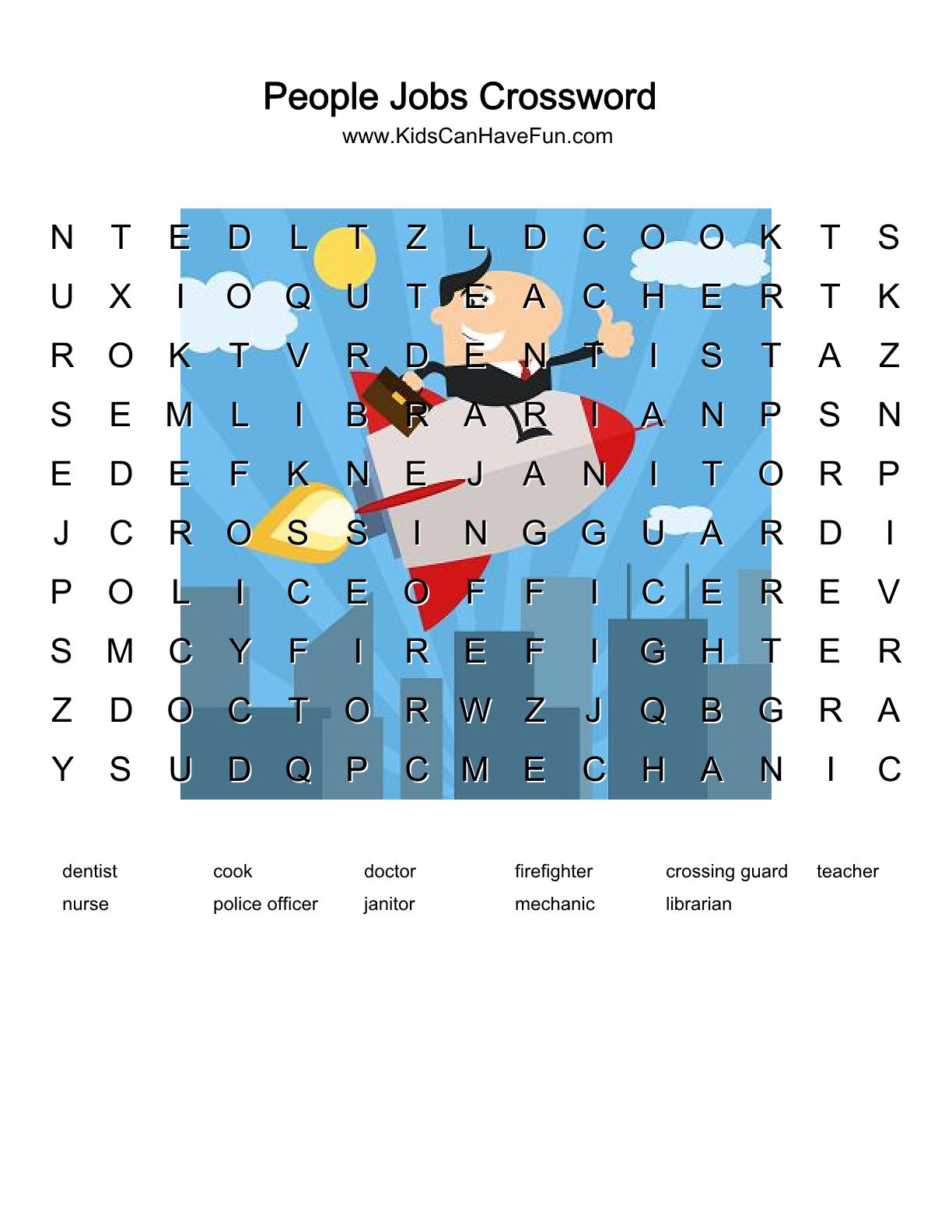 Psychology Crossword Puzzle Printable Crossword Puzzle Gallery ...