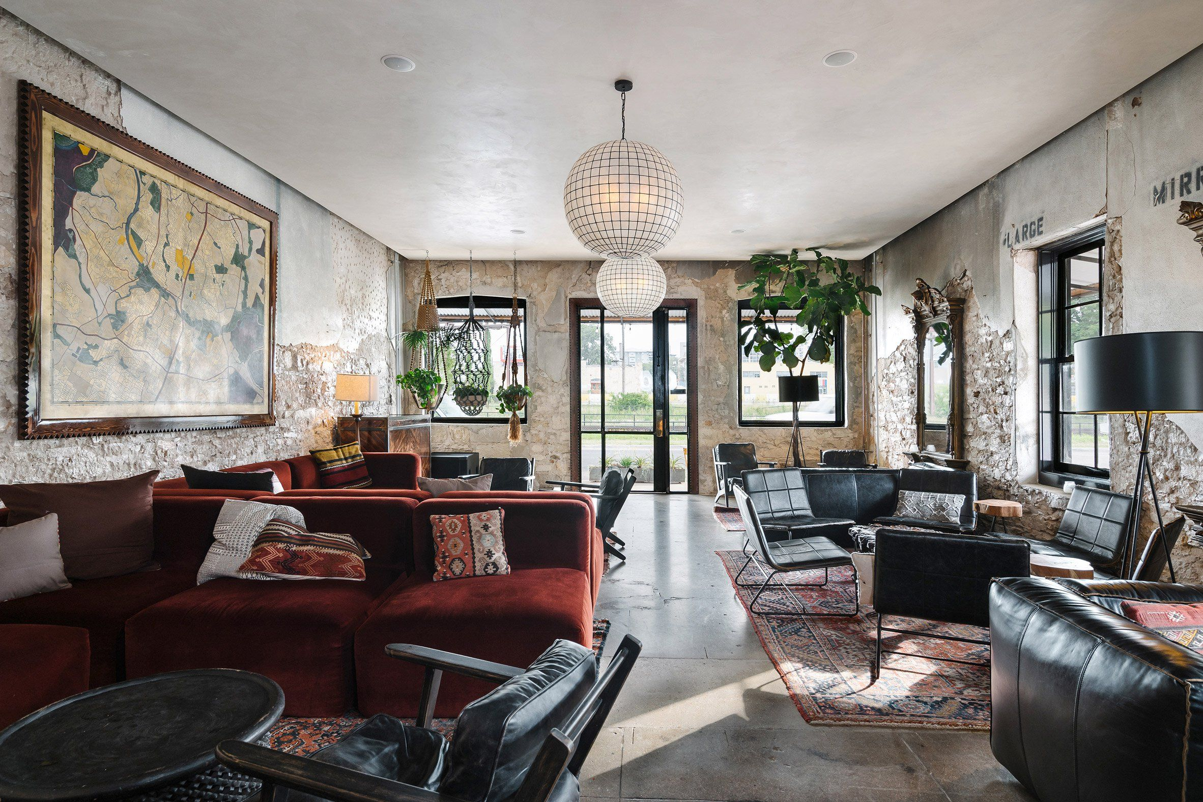 Native Hostel In Austin Texas Usa By Un Box Studio Hostels Design Event Space Design Boutique Hostels