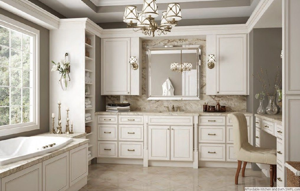 27 Antique White Kitchen Cabinets [Amazing Photos Gallery | Fort ...