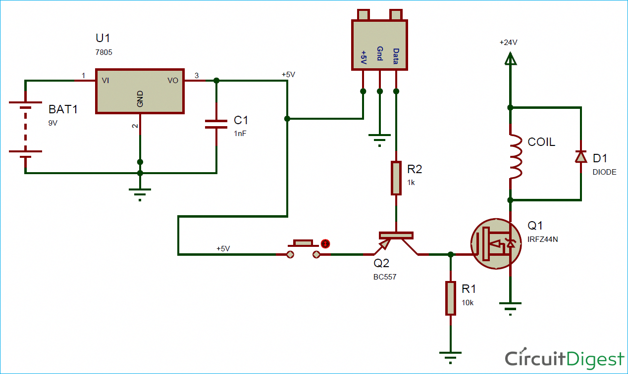 hight resolution of circuit diagram for electromagnetic coil gun electronicgadget