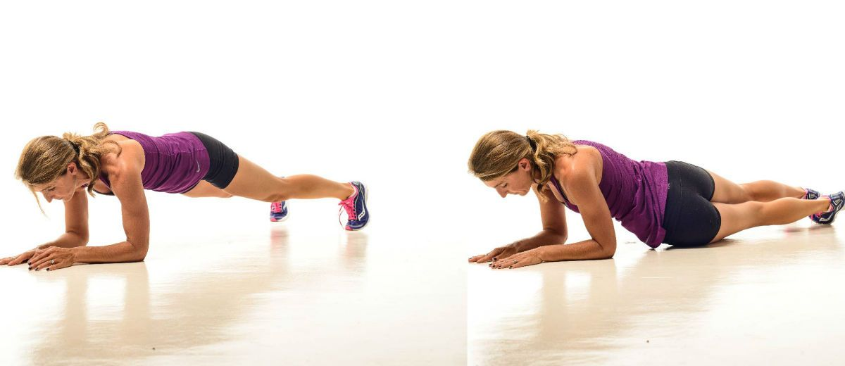 Image result for Plank with Hips Dips