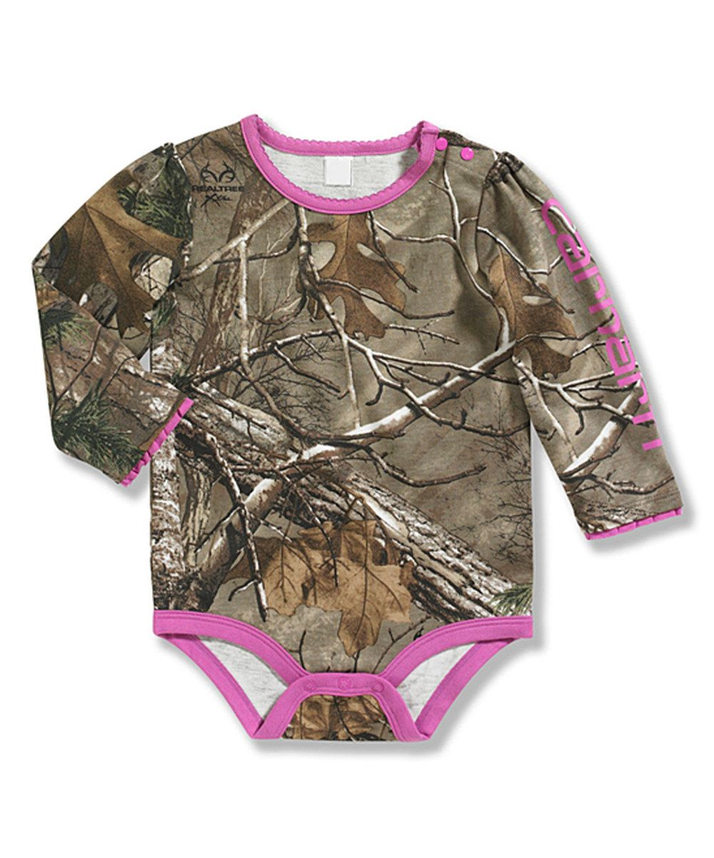 e673b6129 Look at this Brown Realtree Xtra® Camo Bodysuit - Infant on #zulily today!