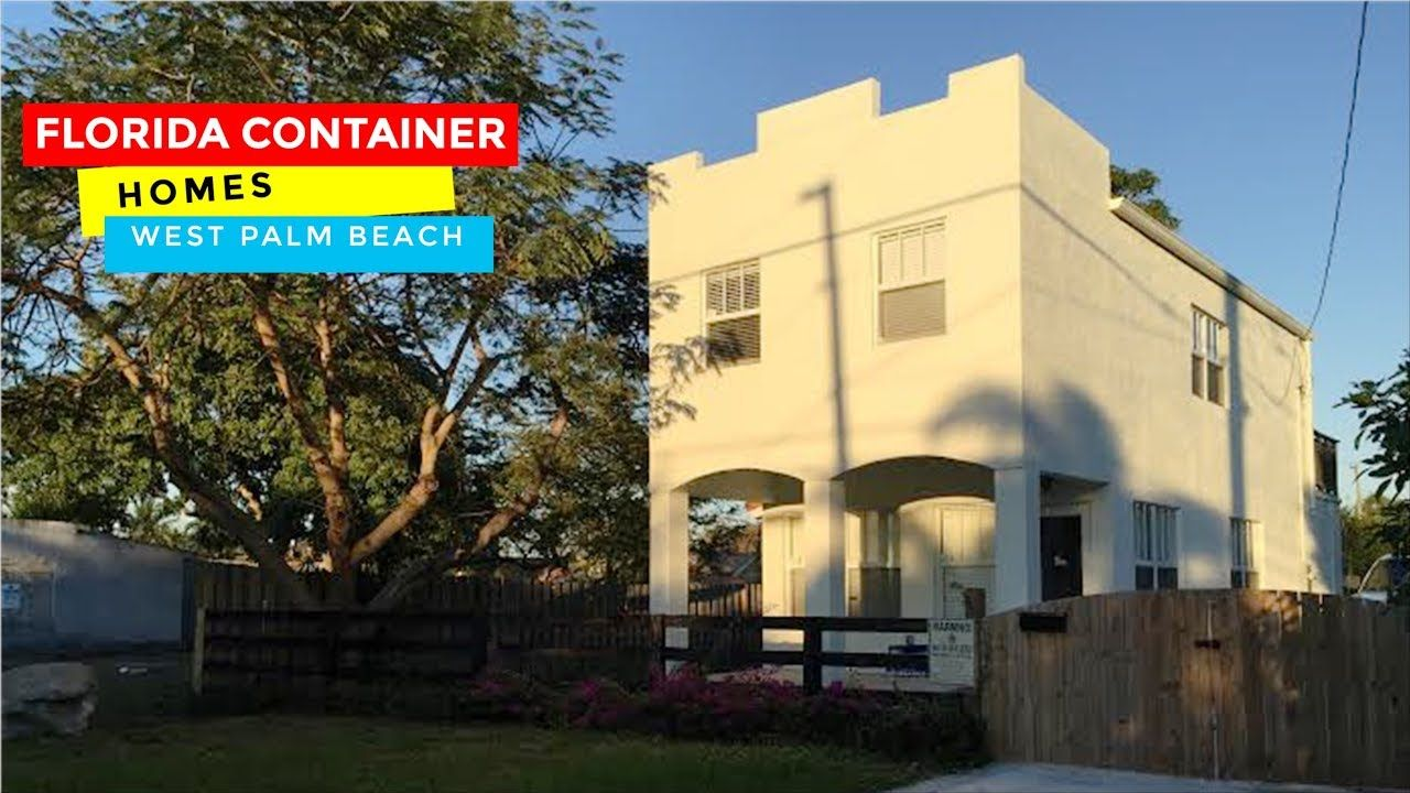 Florida Container Homes By Bessenroth Builders Inc Container House West Palm Beach Florida Palm Beach Florida
