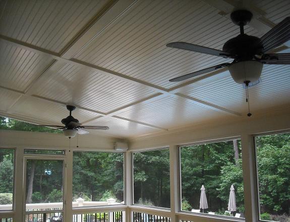 beadboard ceiling bead board picture bead board ceilings provided by raleigh decks deck - Beadboard Ceiling