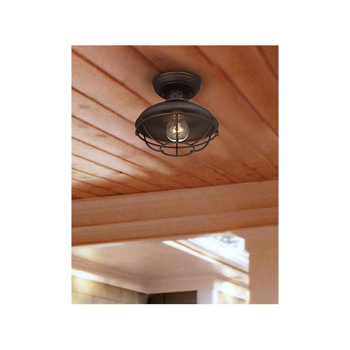 Franklin Park Metal Cage 8 1/2  Wide Outdoor Ceiling Light  sc 1 st  Pinterest & Franklin Park Metal Cage 8 1/2