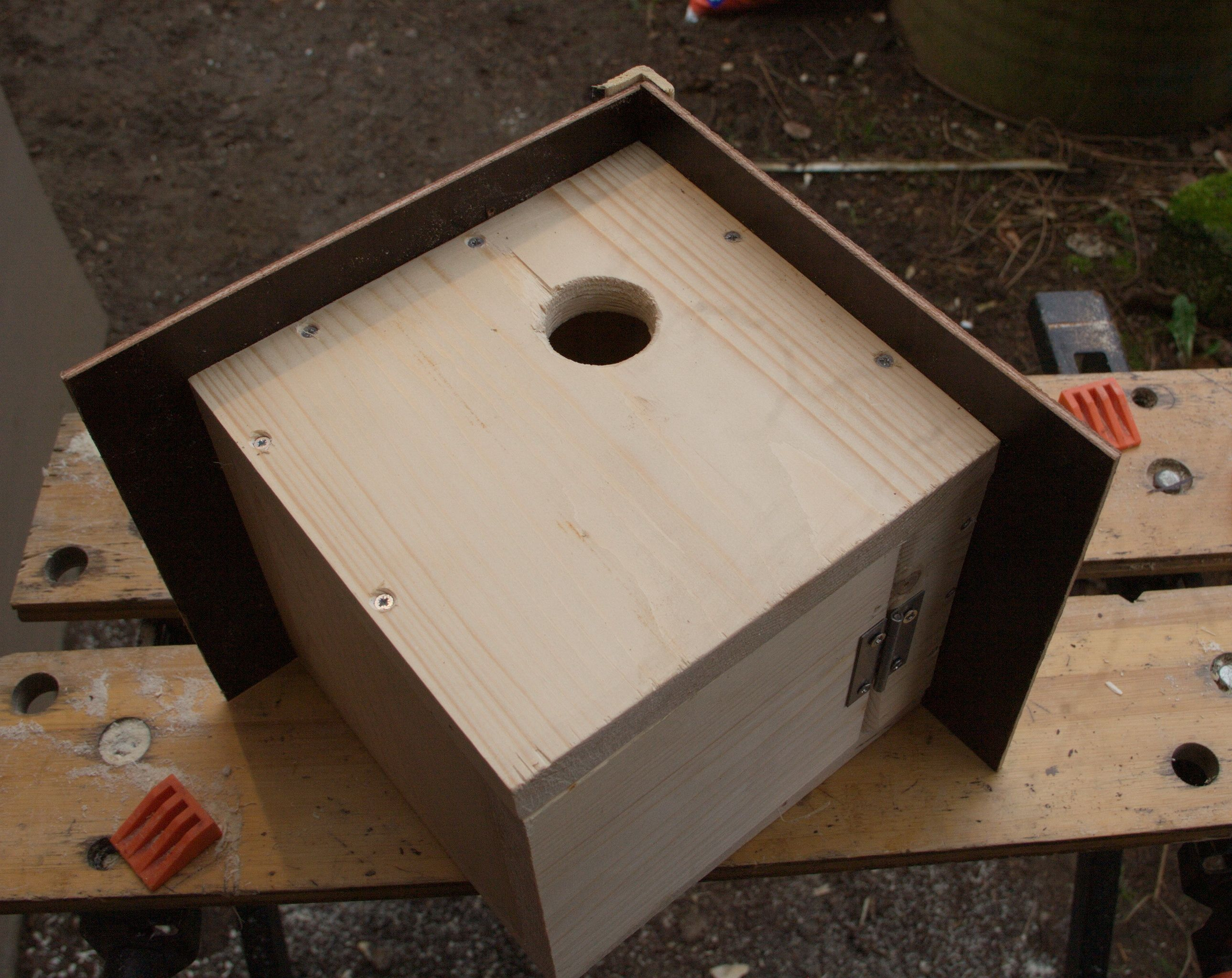 Vogelhaus Bastelanleitung zum selber basteln | Heimwerker-Forum