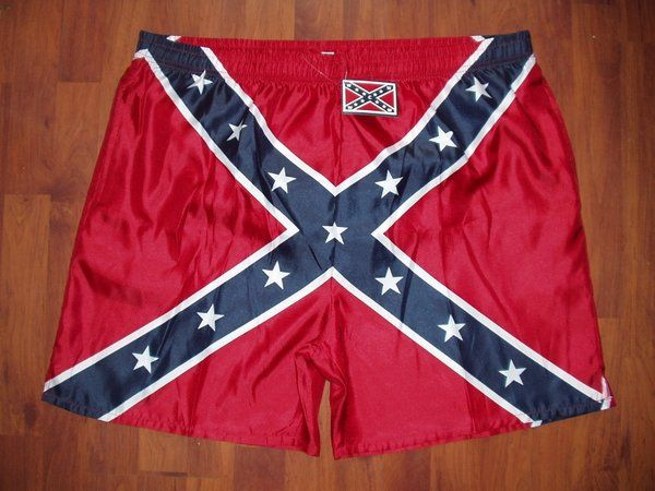 3a06666db2 Men's All Over Confederate Swim Trunks | DL Grandeurs | Trunks, Swim ...