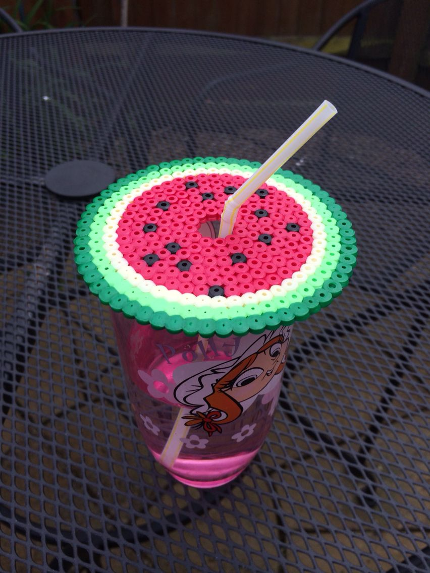 No more bugs in your drinks #hammabeads #mrmrsandminimes #summer