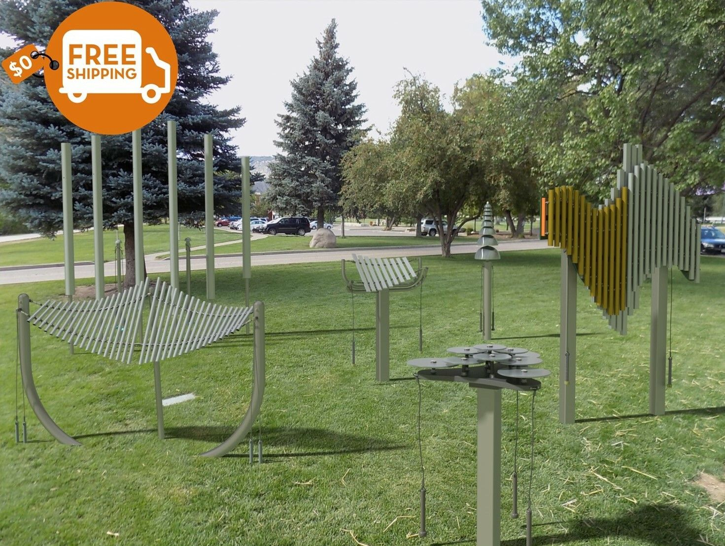 Freenotes Harmony Park Outdoor Musical Instruments For Schools Playgrounds Parks All Ages And Abilities Harmony Park School Playground Playground