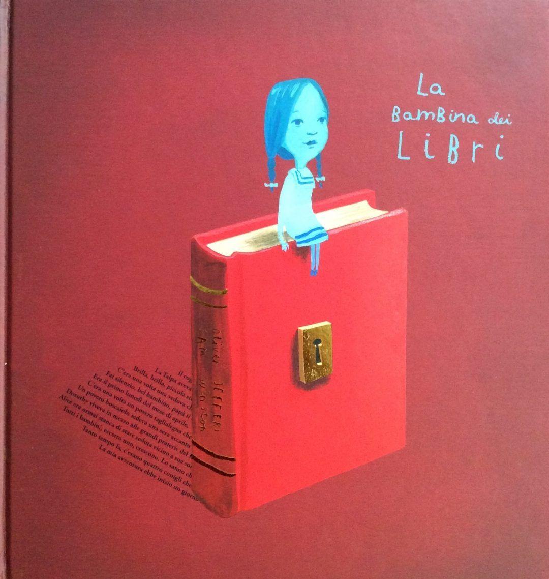 La bambina dei libri di Oliver Jeffers è un progetto molto elegante realizzato a quattro mani con l