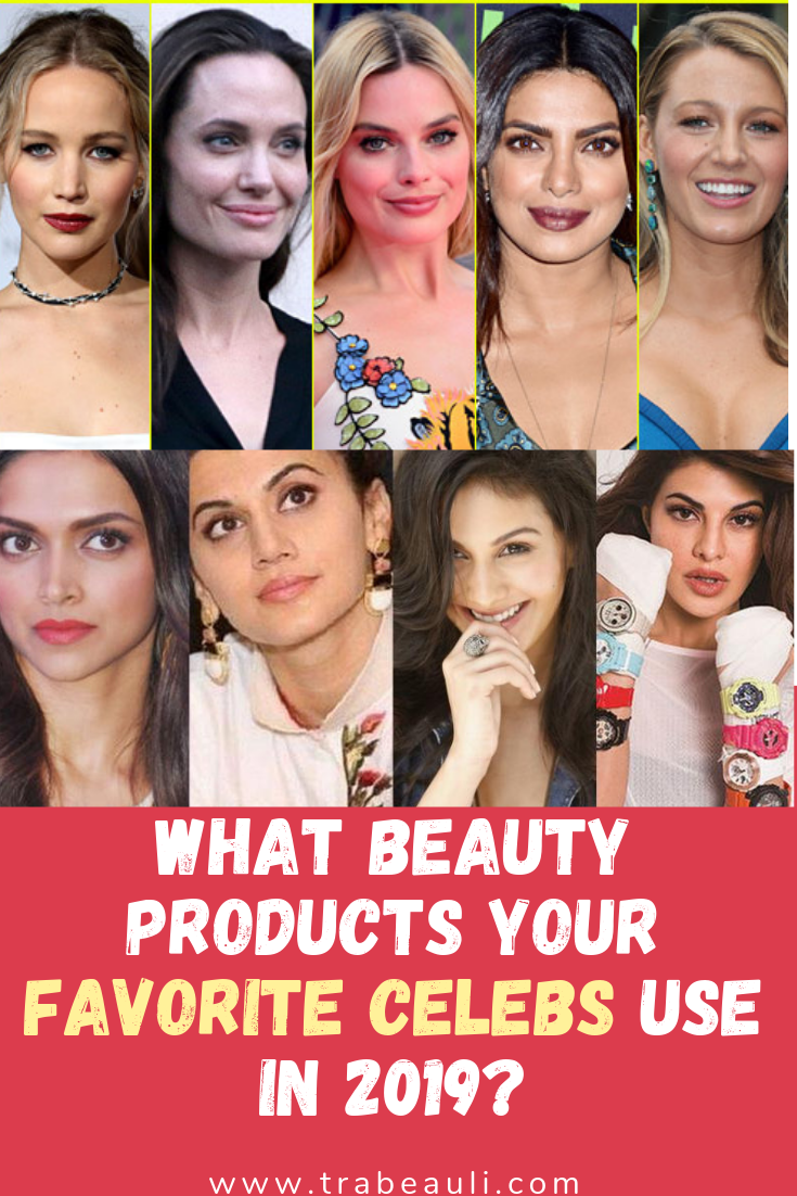 8 Best Beauty Products Celebrities Used For Skincare In 2020 Trabeauli Celebrity Skin Care Favorite Celebrities Skin Care