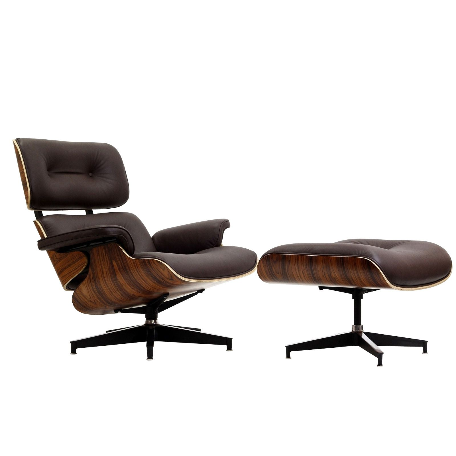 Best Eaze Lounge Chair In Brown Leather And Palisander Wood Eei 400 x 300