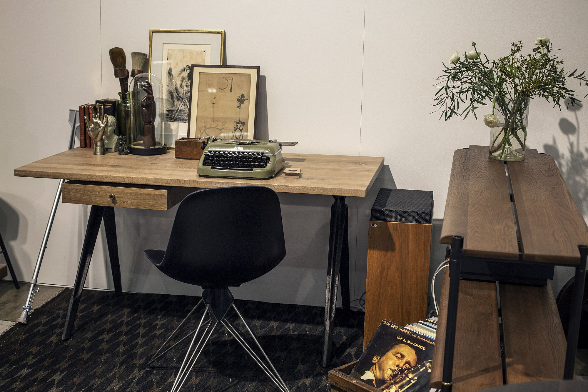 Modern Industrial Desk For The Small Home Office