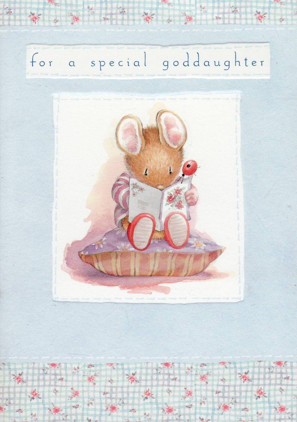 Hallmark country companions mouse birthday card