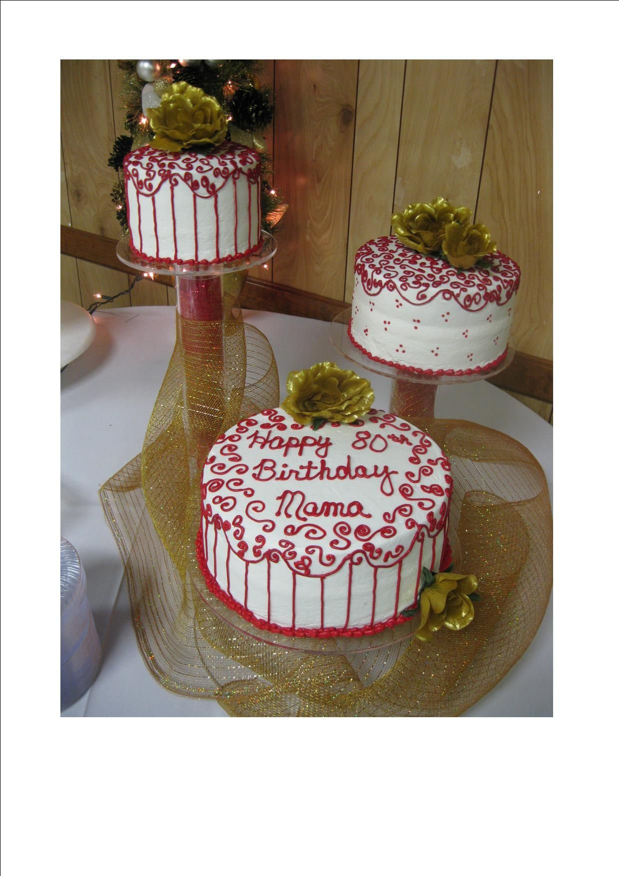 80th birthday cake moms 80th birthday party pinterest
