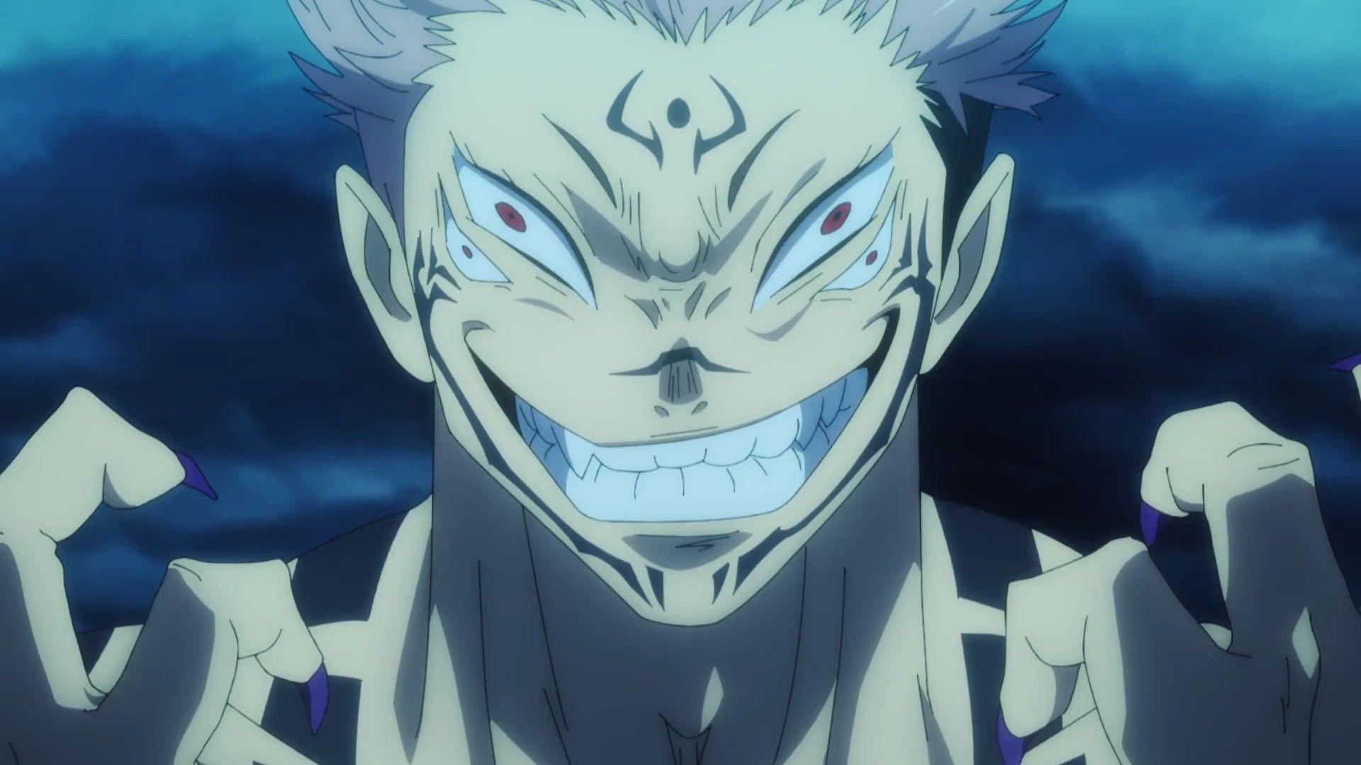 Sukuna Jujutsu Kaisen Anime Jujutsu Demon