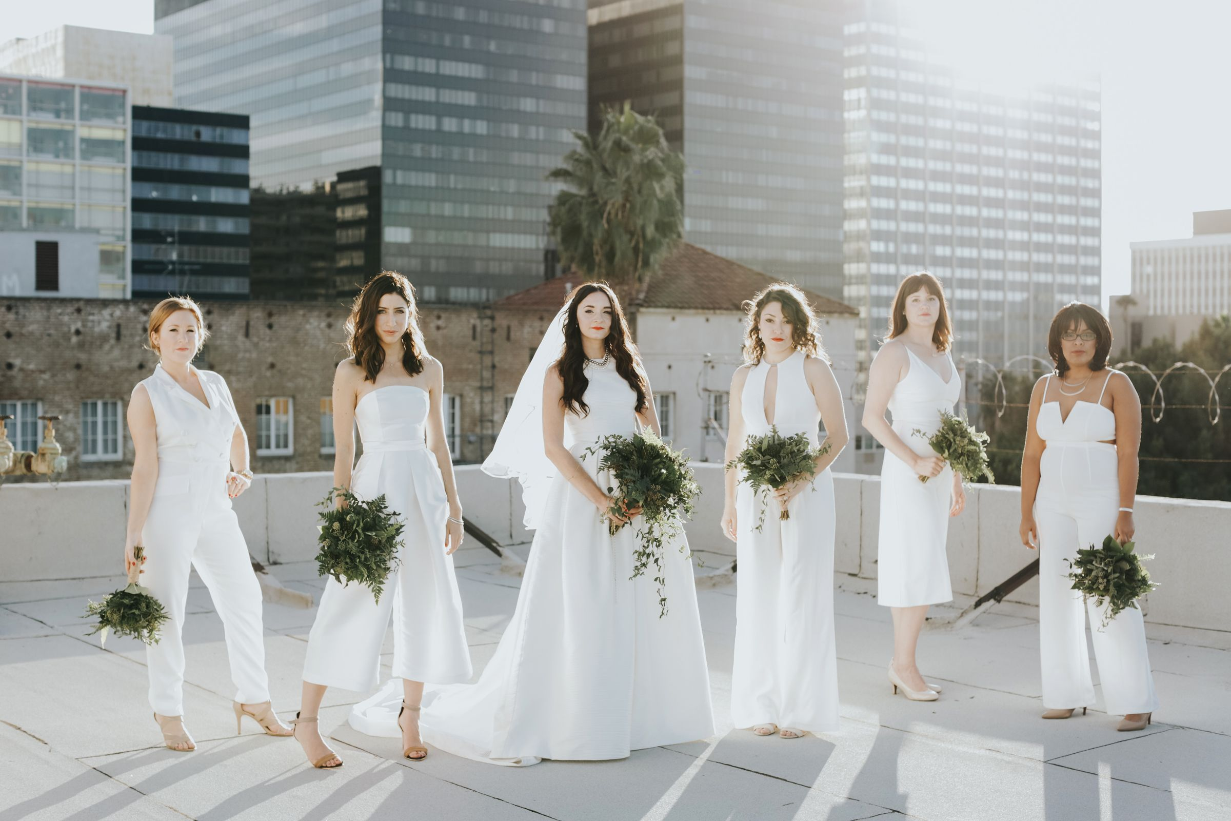 20 Wedding Parties That Prove Bridesmaids' Jumpsuits Are Just as Beautiful as Dresses #bridesmaidjumpsuits 20 Wedding Parties That Prove Bridesmaids' Jumpsuits Are Just as Beautiful as Dresses #bridesmaidjumpsuits