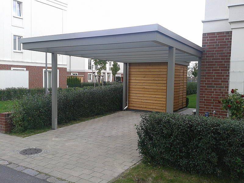 Http Www Carporthaus De Carport Images Berlin Modern 01 5a Jpg Carport Outdoor Decor Design