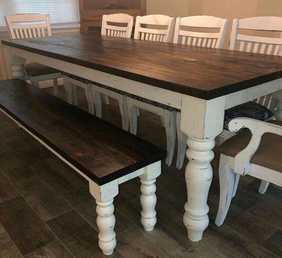 Farmhouse Dining Table Legs
