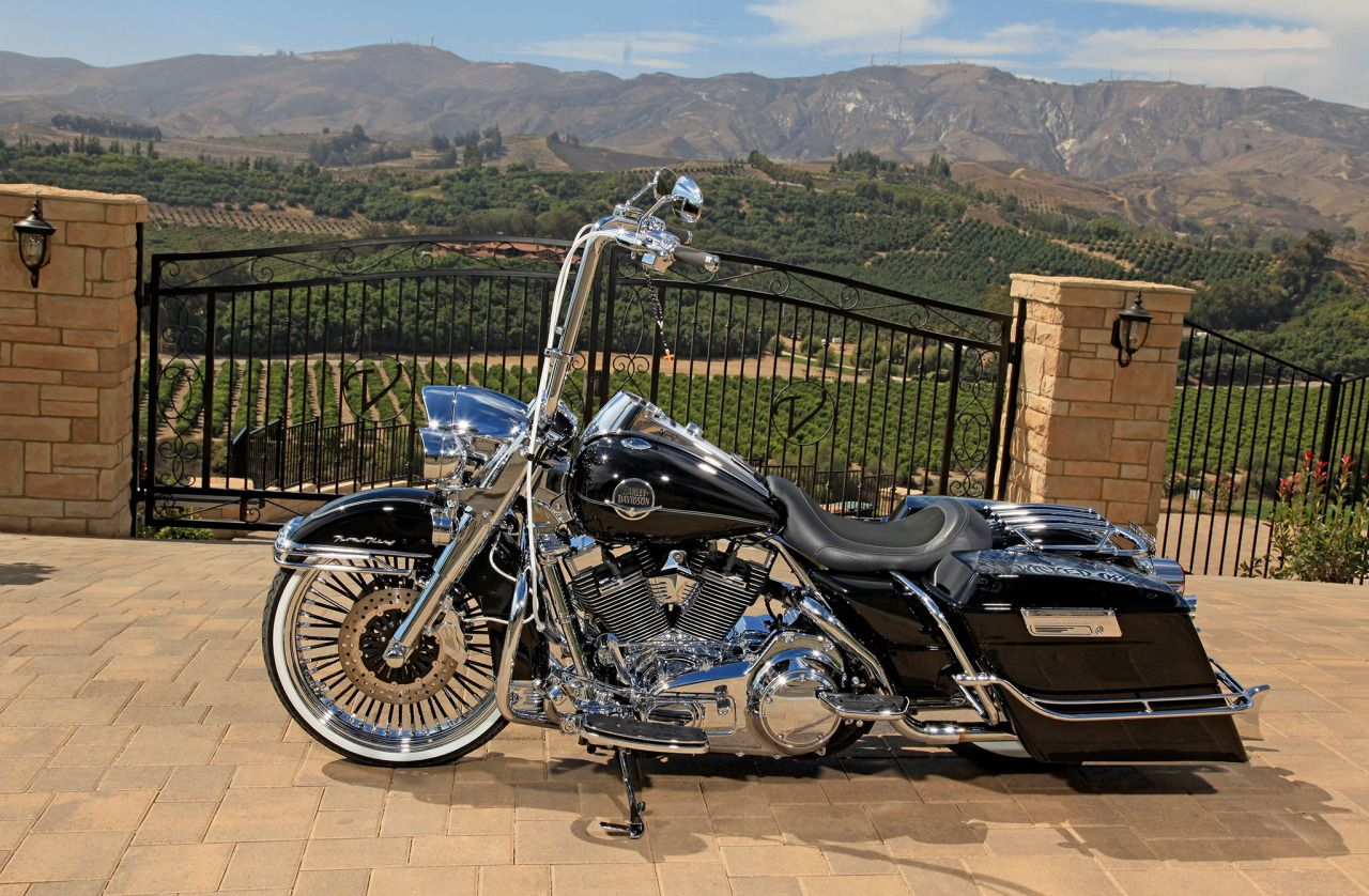 customized 2008 road king classic my homestyle. Black Bedroom Furniture Sets. Home Design Ideas
