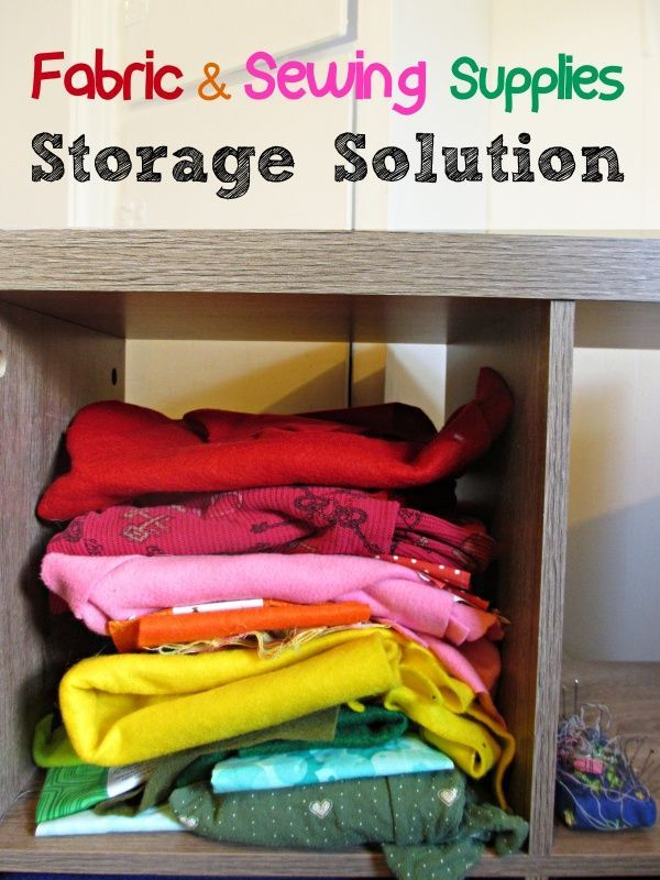 Fabric U0026 Sewing Supplies Storage Solution #storagesolution #fabricstorage  #materialstorage