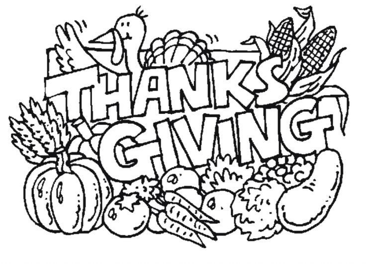 Pin von Thanksgiving Galore auf Coloring Pages | Pinterest