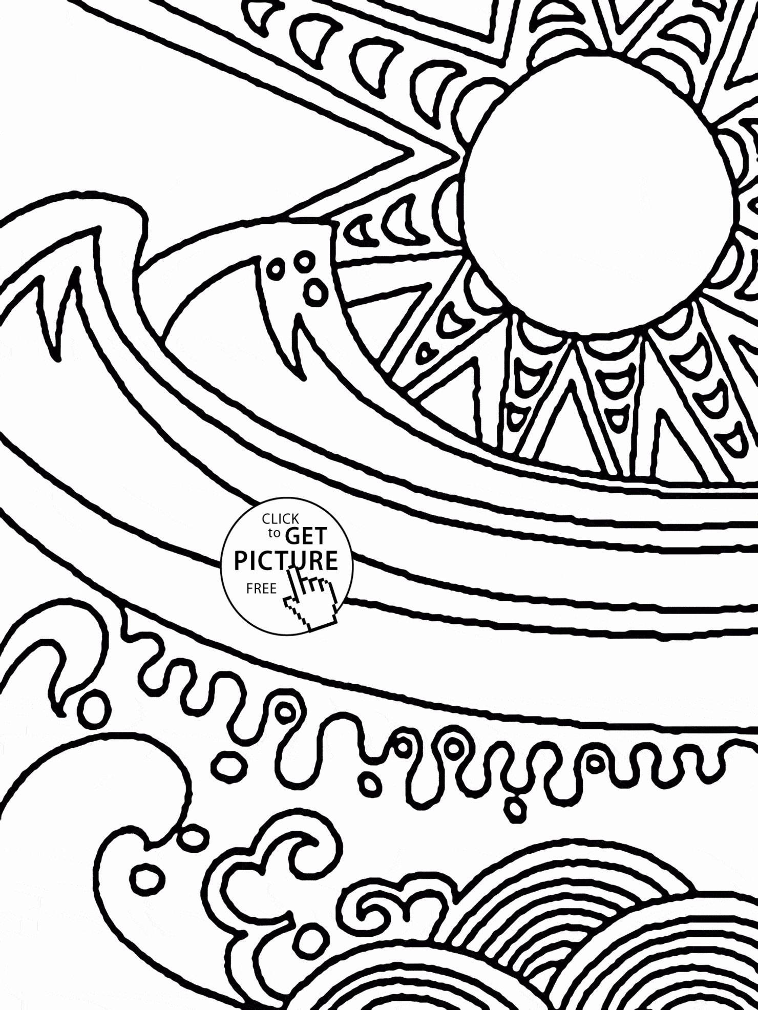 Summer Olympics Coloring Page In With Images