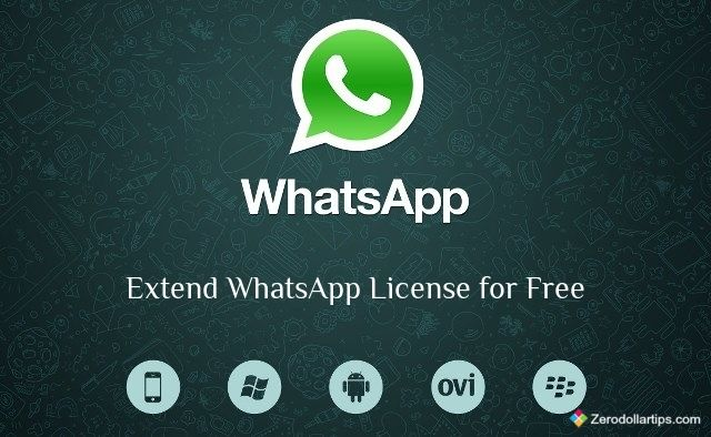 How to Extend WhatsApp License for Free Mobile phone