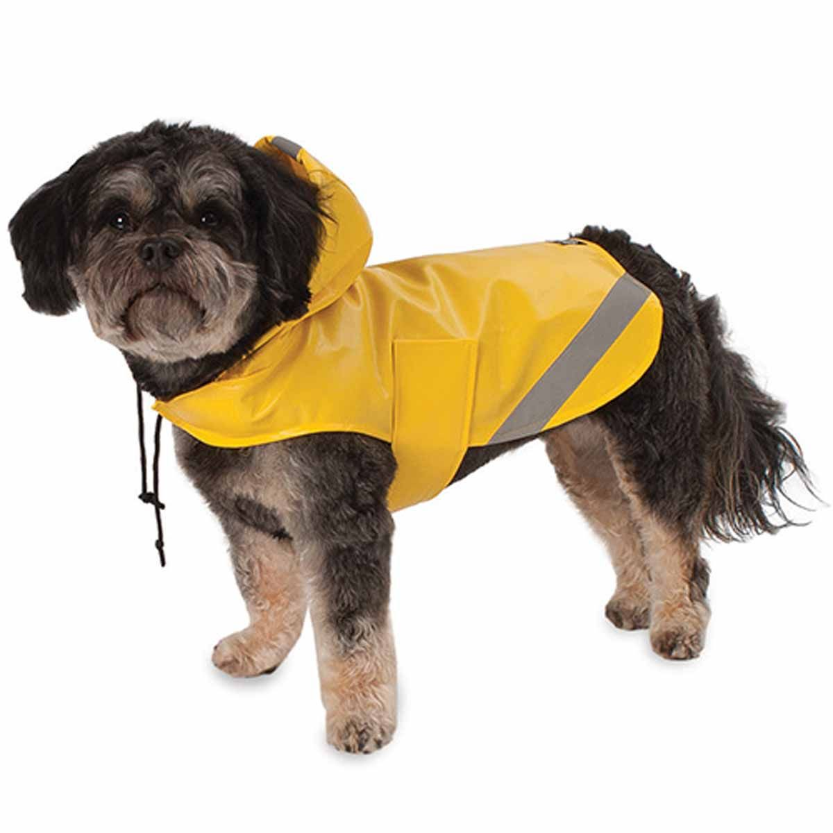 London Dog Rain Slicker Yellow Dog Diapers Pets Dogs