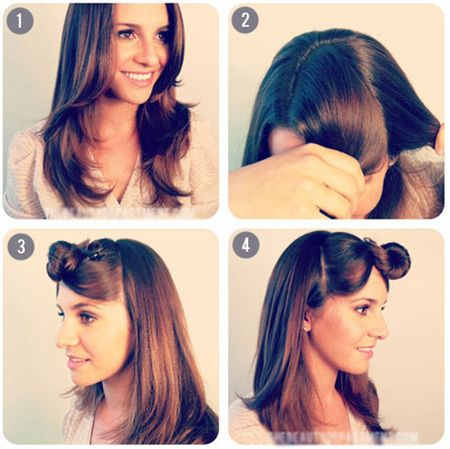 Back to school hairstyle: the two simple ponytail hairstyles that you could easily do at home ...