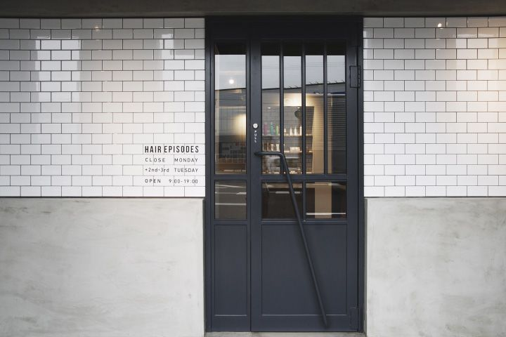 ショップデザイン事例 Hair Episodes 名古屋の店舗設計 オフィス